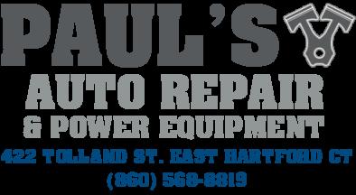 Pauls Auto Repair East Hartford Ct Car Repair In East