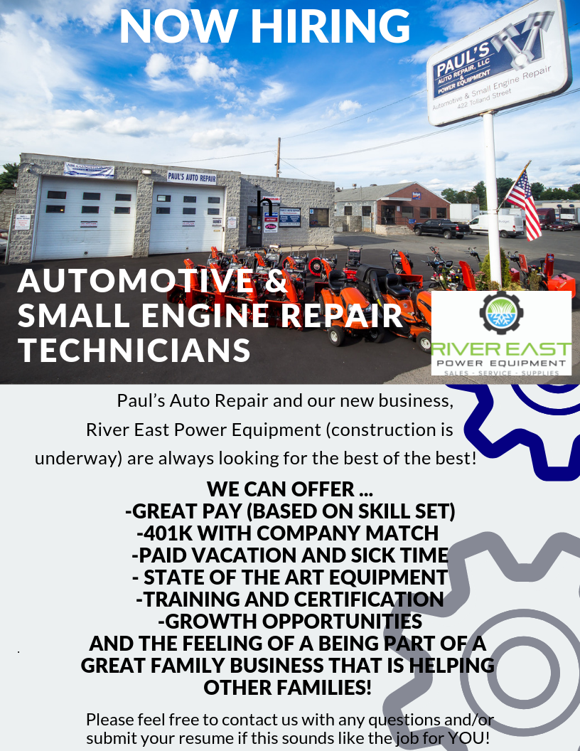 Auto Repair Jobs CT